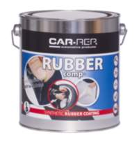 Car-Rep RUBBERcomp Black semigloss 3L